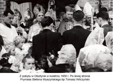 Wspomnienia z pobytów Prymasa Polski Kardynała Stefana Wyszyńskiego w diecezji warmińskiej